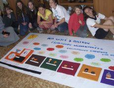 Malování kongregačních námětu – výtvarka červen 2015